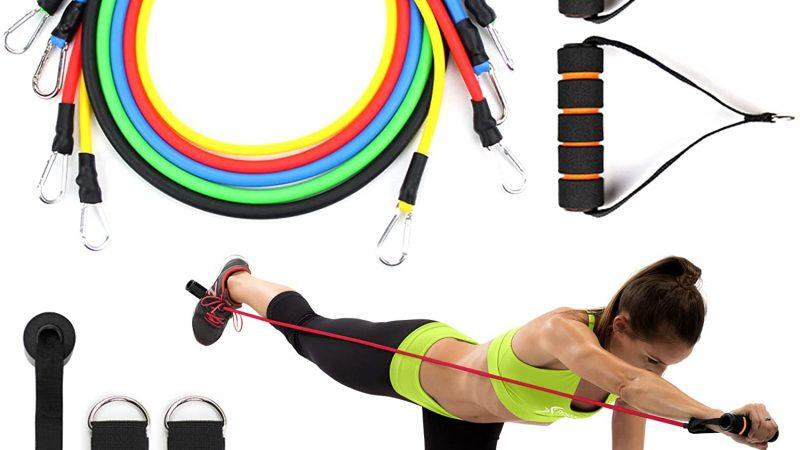 Esercizi con elastici: come usare le Powerbands